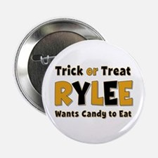 Rylee Trick or Treat Button