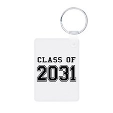 Class of 2031 Aluminum Photo Keychain
