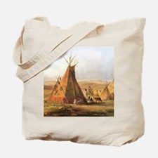 Teepees on the Plain Tote Bag