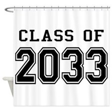 Class of 2033 Shower Curtain