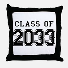 Class of 2033 Throw Pillow