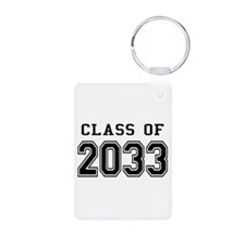 Class of 2033 Aluminum Photo Keychain