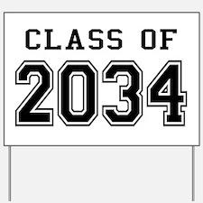 Class 2034 Yard Sign