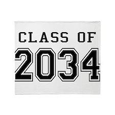 Class 2034 Throw Blanket