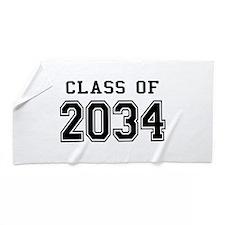 Class 2034 Beach Towel