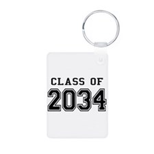 Class 2034 Aluminum Photo Keychain