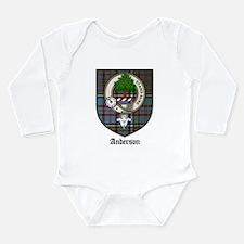 andersontartan.jpg Long Sleeve Infant Bodysuit