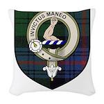 Armstrong Clan Crest Tartan Woven Throw Pillow