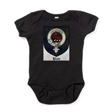 Blair Clan Crest Tartan Baby Bodysuit