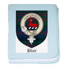 Blair Clan Crest Tartan baby blanket