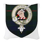 Blyth Clan Badge Tartan Woven Throw Pillow