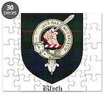 Blyth Clan Badge Tartan Puzzle