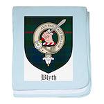 Blyth Clan Badge Tartan baby blanket