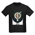 Blyth Clan Badge Tartan Kids Dark T-Shirt