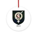Blyth Clan Badge Tartan Ornament (Round)