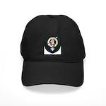Blyth Clan Badge Tartan Black Cap