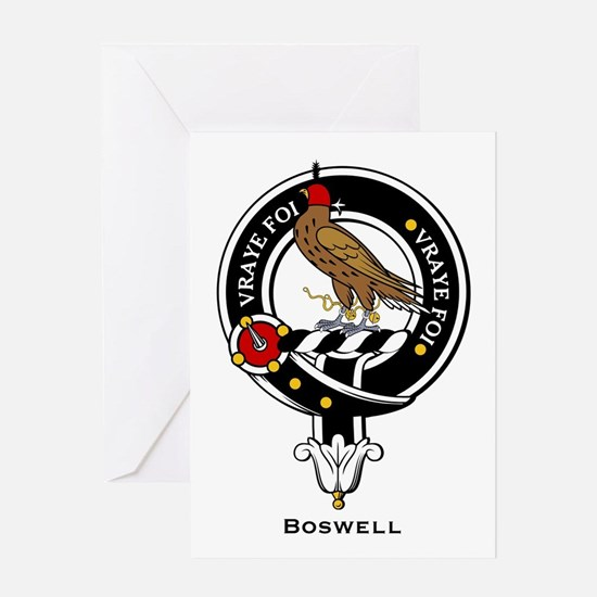 Boswell.jpg Greeting Card