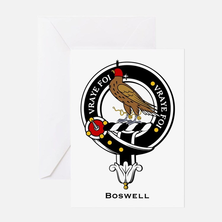 Boswell.jpg Greeting Card