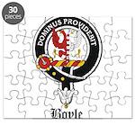 Boyle Clan Badge Crest Puzzle