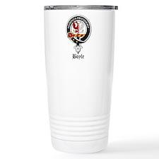 Boyle Clan Badge Crest Travel Mug