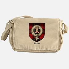 Brodie Clan Crest Tartan Messenger Bag