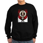 Brodie Clan Crest Tartan Sweatshirt (dark)