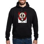 Brodie Clan Crest Tartan Hoodie (dark)