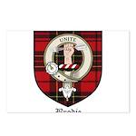 Brodie Clan Crest Tartan Postcards (Package of 8)