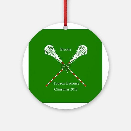 Lacrosse Christmas Ornament  CafePress