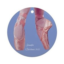 Personalized Ballet Pointe Shoes Ornament