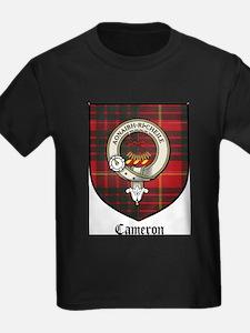 Cameron Clan Crest Tartan T