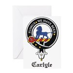 Carlyle.jpg Greeting Card
