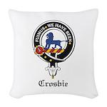 Crosbie.jpg Woven Throw Pillow