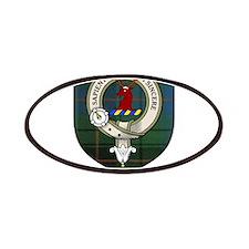Davidson Clan Crest Tartan Patches