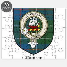 Duncan Clan Crest Tartan Puzzle