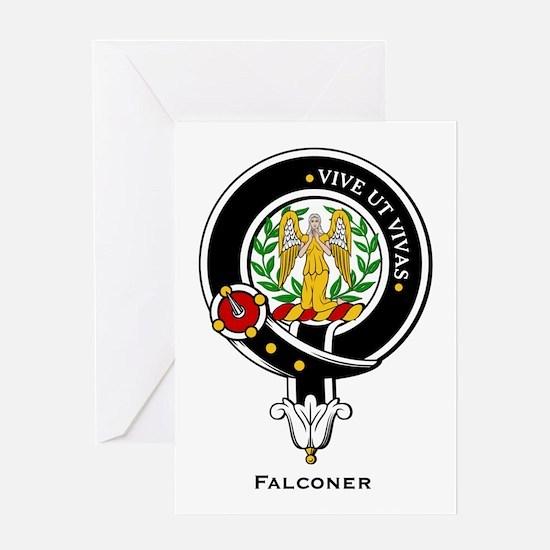 Falconer.jpg Greeting Card