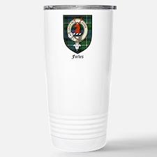 Forbes Clan Crest Tartan Travel Mug