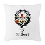 Gilbert.jpg Woven Throw Pillow
