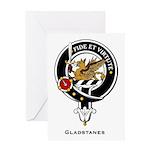 Gladstanes.jpg Greeting Card