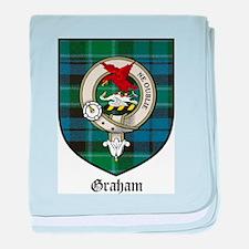 Graham Clan Crest Tartan baby blanket