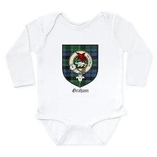 Graham Clan Crest Tartan Onesie Romper Suit