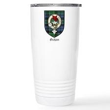 Graham Clan Crest Tartan Travel Mug