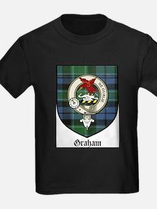 Graham Clan Crest Tartan T