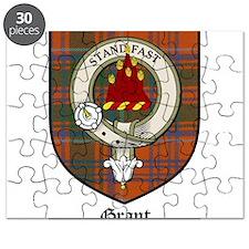 Grant Clan Crest Tartan Puzzle