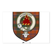 Grant Clan Crest Tartan Postcards (Package of 8)