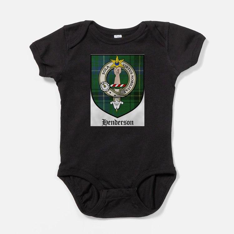 Henderson Clan Crest Tartan Baby Bodysuit