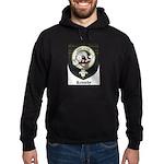 Kennedy Clan Crest Tartan Hoodie (dark)