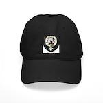 Kennedy Clan Crest Tartan Black Cap