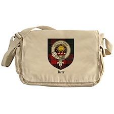 Kerr Clan Crest Tartan Messenger Bag