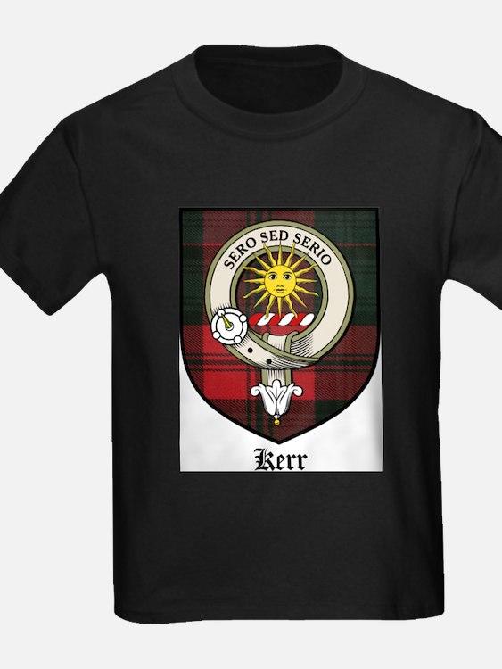 Kerr Clan Crest Tartan T